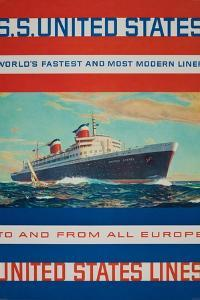 Ss United States from the United Sates Lines