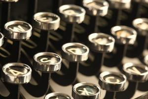 Vintage Typewriter Keys by SSilver