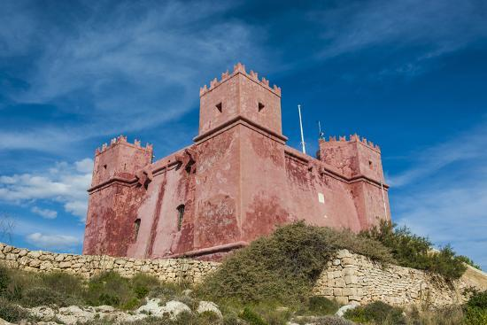 St. Agatha Tower (Red Keep) (Red Tower), Malta, Europe-Michael Runkel-Photographic Print