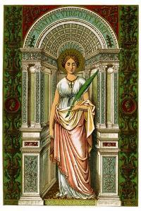 St Agatha, Virgin and Martyr, 1886