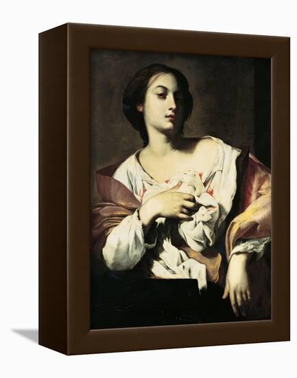 St. Agatha-Francesco Guarino-Framed Stretched Canvas Print