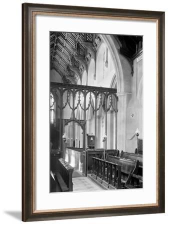 St. Agnes Church, Cawston-Frederick Henry Evans-Framed Photographic Print