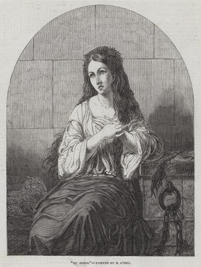 St Agnes-Henry O'Neill-Giclee Print