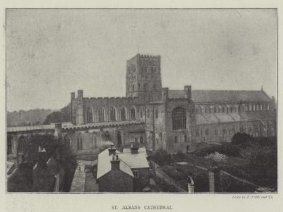 St Albans Cathedral--Giclee Print