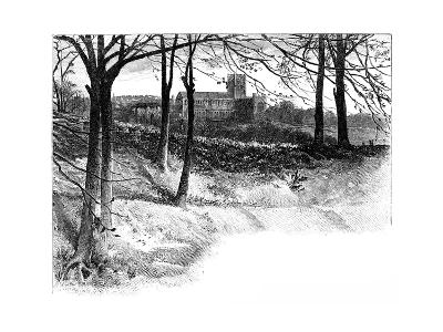 St Albans, from Verulam, 19th Century--Giclee Print