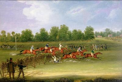 St Albans Tally-Ho Stakes, May 22nd 1834-James Pollard-Giclee Print
