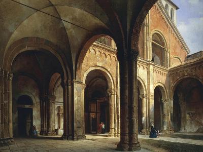 St Ambrose's Hall-Luigi Bisi-Giclee Print