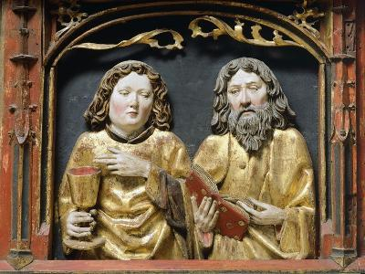 St Andrew and St John Evangelist, Detail from Altar of Mary--Giclee Print