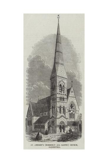St Andrew's (Formerly All Saints) Church, Camberwell--Giclee Print