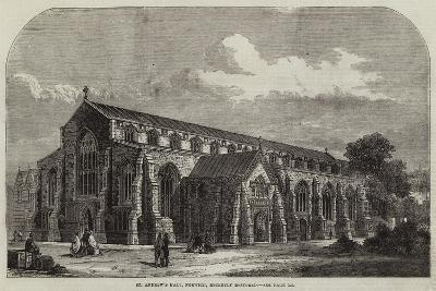 St Andrew's Hall, Norwich, Recently Restored--Giclee Print