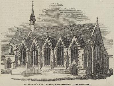 St Andrew's New Church, Ashley-Place, Victoria-Street--Giclee Print