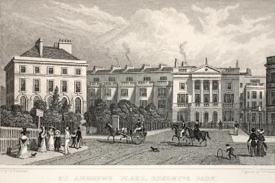 St Andrew's Place-Thomas Hosmer Shepherd-Giclee Print