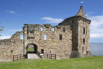 St Andrews Castle, Fife, Scotland, 2009-Peter Thompson-Photographic Print