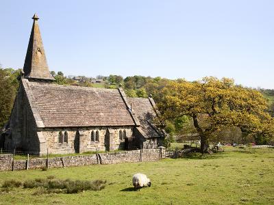 St. Andrews Church, Blubberhouses, North Yorkshire, Yorkshire, England, United Kingdom, Europe-Mark Sunderland-Photographic Print