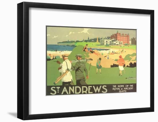 St. Andrews Golf Course--Framed Art Print