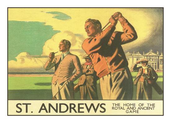 St. Andrews Golf Course--Premium Giclee Print
