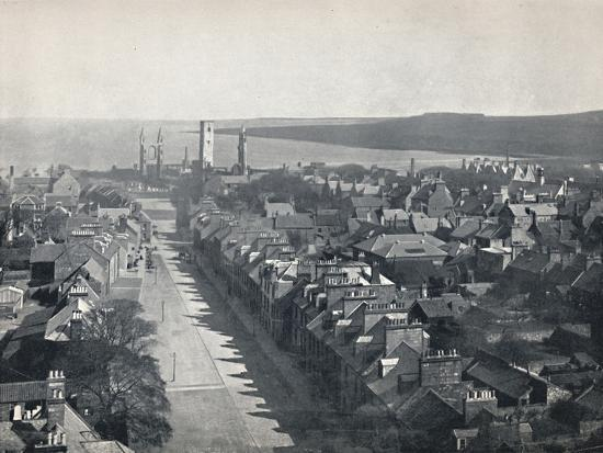 'St. Andrews - View of the Town from College Church Tower', 1895-Unknown-Photographic Print