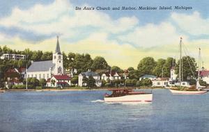 St. Ann's Church, Mackinac Island, Michigan