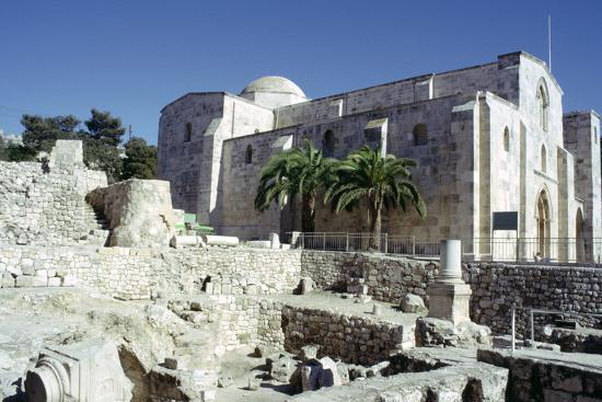 St Annes Church, Jerusalem, Israel-Vivienne Sharp-Photographic Print