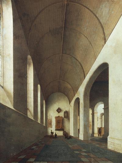 St Anthony Chapel in St John's Church in Utrecht, 1645-Pieter Jansz Saenredam-Giclee Print