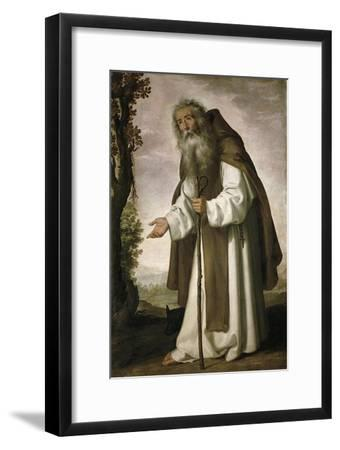 St. Anthony Dispirited, 1640-Francisco de Zurbarán-Framed Giclee Print