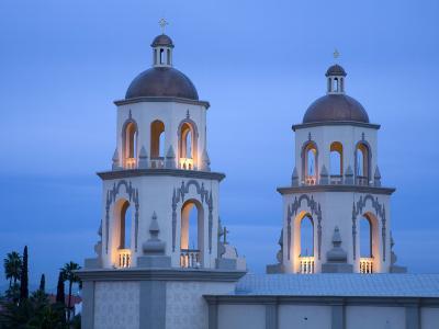 St. Augustine Cathedral, Tucson, Arizona, United States of America, North America-Richard Cummins-Photographic Print
