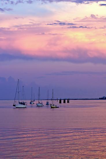 St. Augustine Harbor Sunset 4-Alan Hausenflock-Photographic Print