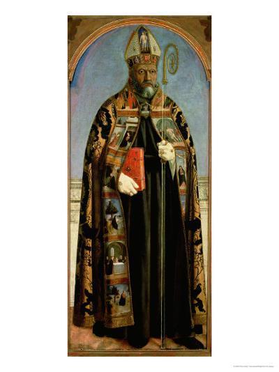St. Augustine-Piero della Francesca-Giclee Print