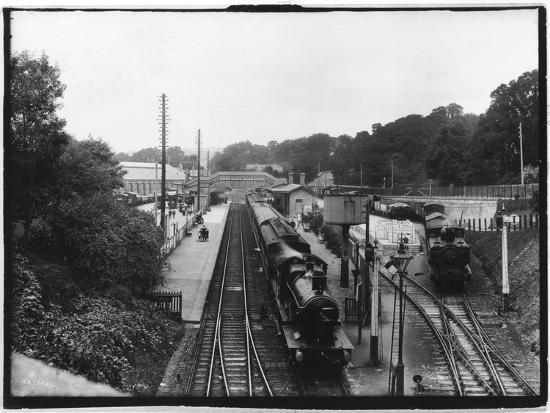 St Austell Station, Cornwall--Photographic Print