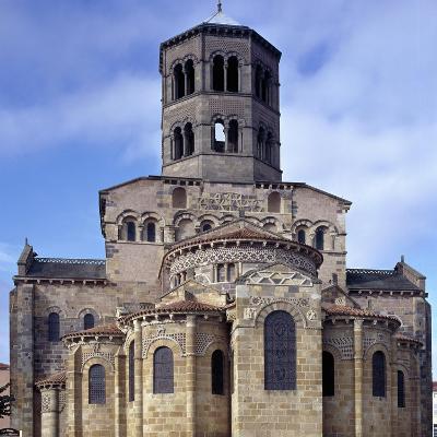 St. Austremoine Church Apse, Issoire, France, 12th Century--Giclee Print