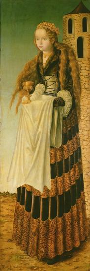 St. Barbara, 1906-Lucas Cranach the Elder-Giclee Print