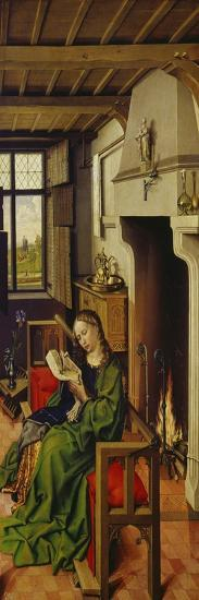St. Barbara, about 1438-Master of Flemalle-Giclee Print