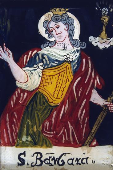 St Barbara, Christian Virgin Martyr, 19th Century--Giclee Print