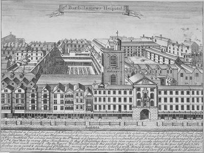 St Bartholomew's Hospital, Smithfield, City of London, 1723--Giclee Print