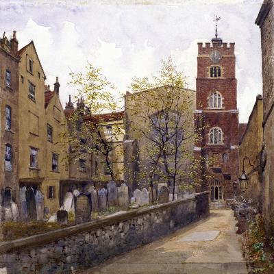 St Bartholomew's Priory, London, 1880-John Crowther-Giclee Print