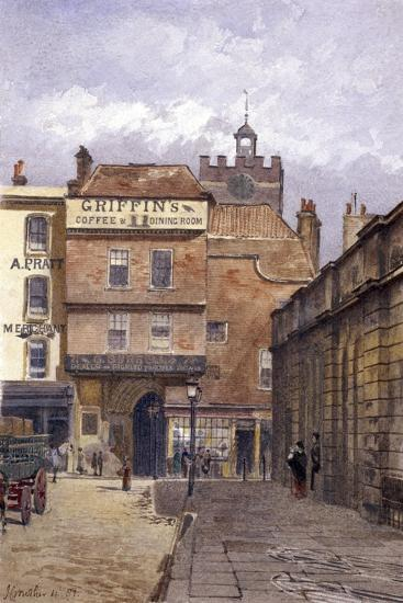 St Bartholomew's Priory, London, 1881-John Crowther-Giclee Print