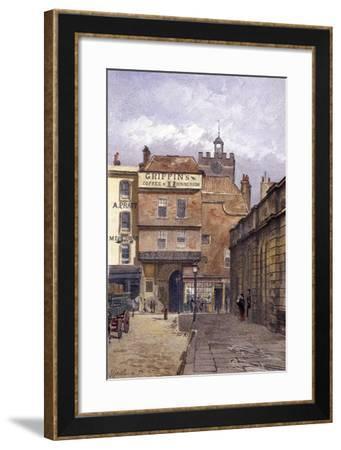 St Bartholomew's Priory, London, 1881-John Crowther-Framed Giclee Print