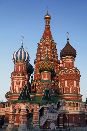 St. Basil's Cathedral in Red Square, Moscow, Russia-Kymri Wilt-Photographic Print