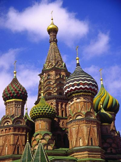St. Basil's Cathedral, Moscow, Russia-Doug Page-Photographic Print