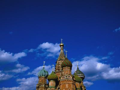 St. Basil's Cathedral, Moscow, Russia-Design Pics Inc-Photographic Print