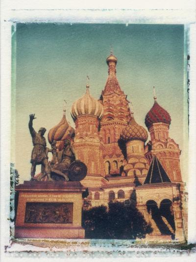 St. Basil's Cathedral, Red Square, Moscow, Russia-Jon Arnold-Photographic Print