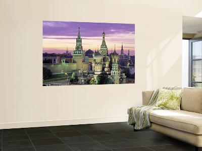 St. Basil's Cathedral, Red Square, Moscow, Russia-Jon Arnold-Giant Art Print