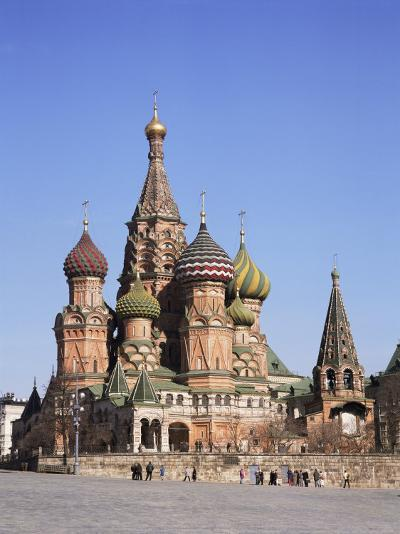 St. Basil's Cathedral, Red Square, Unesco World Heritage Site, Moscow, Russia-Philip Craven-Photographic Print
