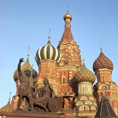 St Basils Cathedral Domes, 16th Century-CM Dixon-Photographic Print