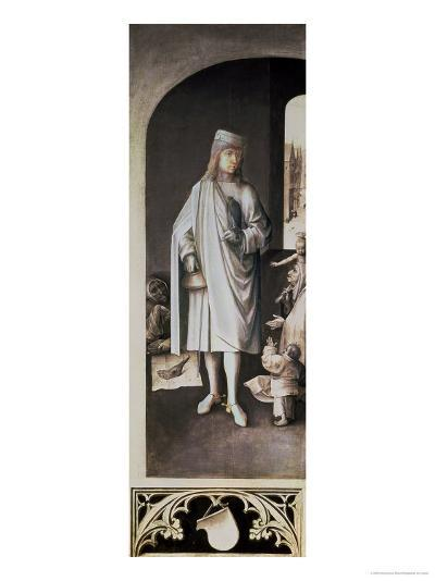 St. Bavo, Exterior of the Right Wing from the Last Judgement Altarpiece-Hieronymus Bosch-Giclee Print
