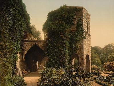 St. Bavon Abbey, the Old Tower, Ghent, Belgium, C.1890-1900--Giclee Print