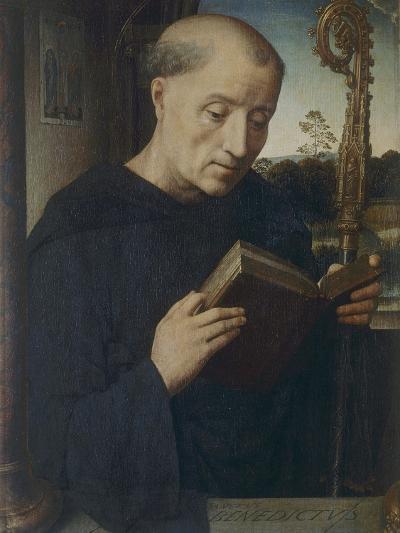 St. Benedict, 1487-Hans Memling-Giclee Print