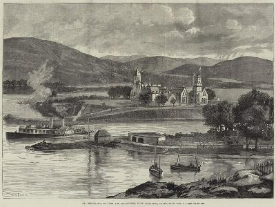 St Benedict's College and Monastery, Fort Augustus, Caledonian Canal-William Heysham Overend-Giclee Print