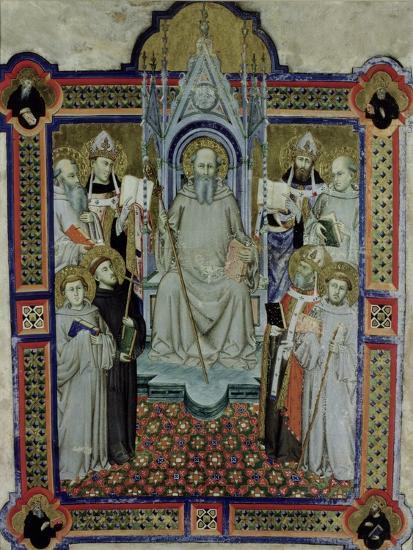 St. Benedict- Jacopo Di Cione-Giclee Print