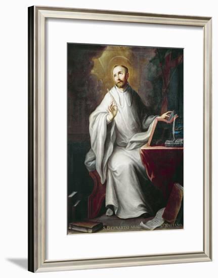 St Bernard-Miguel Cabrera-Framed Giclee Print